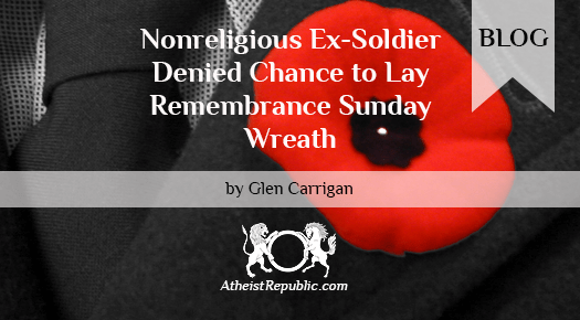 Denied Chance to Lay Remembrance