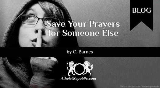Prayers for Someone Else