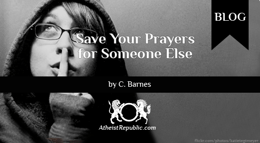 Prayers for Someone Else