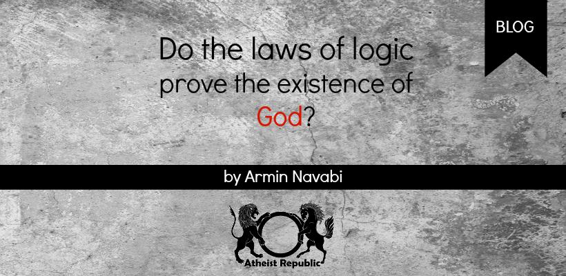 Logic Laws Prove God Existence