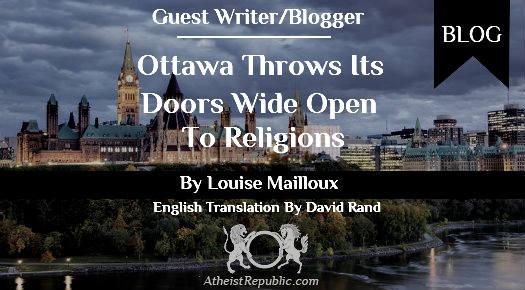 Ottowa Opens to Religions