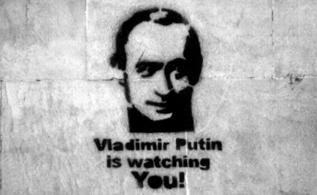 Putin Watching You
