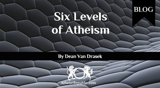 Six Levels Atheism