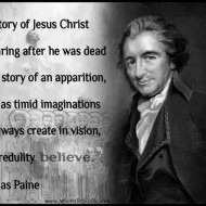 The story of Jesus Christ is the story of an apparition