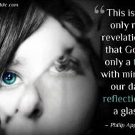 God is only a trick with mirrors