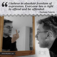 Absolute Freedom of Expression
