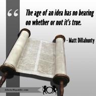Age of An Idea Matt Dillahunty