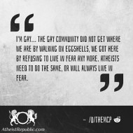 Atheists Should Speak Out