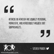Attacks on Atheism - Steven Pinker