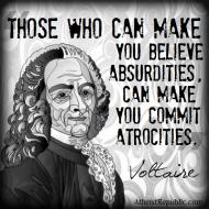 Belief in Absurdities