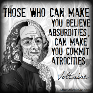 Belief in Absurdities