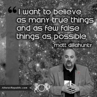 Belief in True Things - Matt Dillahunty