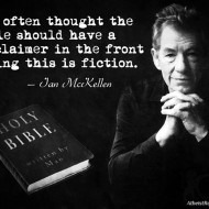 The Bible Should Have a 'Fiction' Disclaimer
