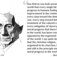 Christian Religion Opposing Progress