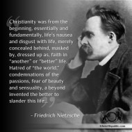 Christianity and Afterlife - Nietszche