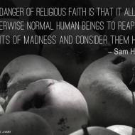 Danger of Religious Faiths
