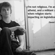 Daniel Radcliffe on Being Atheist