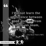 Difference Good and Evil - The Beat Fleet