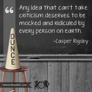 Do Beliefs Deserve Ridicule