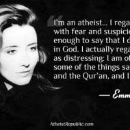 Emma Thompson an Atheist