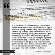 Explaining Creationism