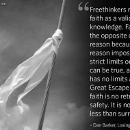 Freethinkers Reject Faith