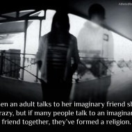 God Imaginary Friend Forms Religion