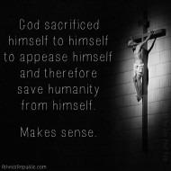 God Sacrificed Himself to Himself