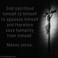 God Sacrificed Himself to Himself