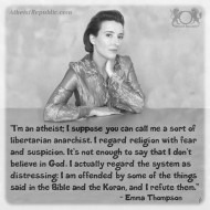 I Am An Atheist - Emma Thompson