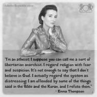 I Am An Atheist - Emma Thompson
