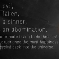 I am not an abomination