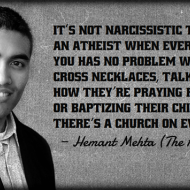 Its Not Narcissistic to Say Youre Atheist