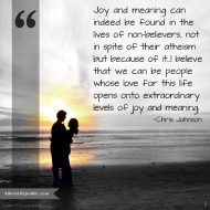 Joy and Meaning