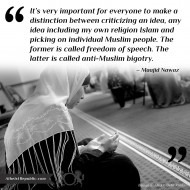 Criticizing Islam - Maajid Nawaz