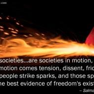 Free Societies - Salman Rushdie