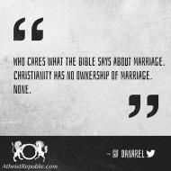 Marriage - Dan Arel
