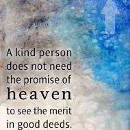 Merit in Good Deeds