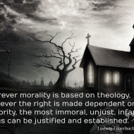 Morality Based on Theology