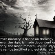 Morality Based on Theology