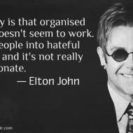 Organized Religion Not Working