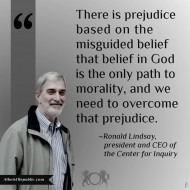 Prejudice on Lack of Religious Belief