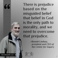 Prejudice on Lack of Religious Belief