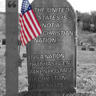 The United States is not a Christian Nation - Casper Rigsby