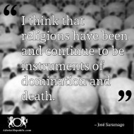Religion Instrument of Domination and Death