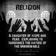 Religion Is a Daughter of Hope and Fear