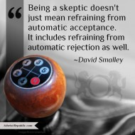 Skepticism - David Smalley