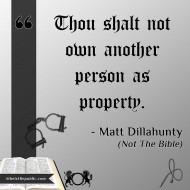 Slavery - Matt Dillahunty