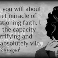 Sweet Miracle of Unquestioning Faith