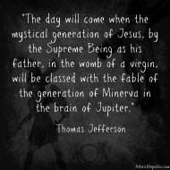 Thomas Jefferson on Jesus and Christianity